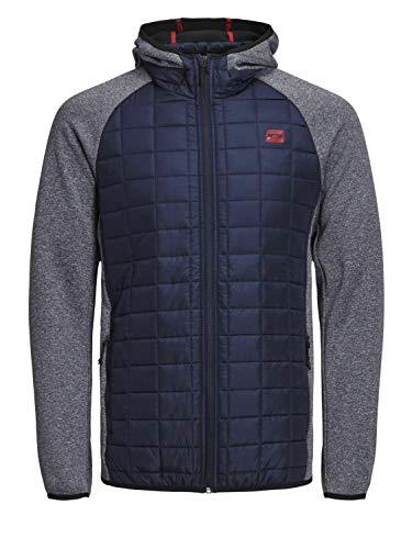 Jack & Jones Tech Herren Jjtmulti Quilted Jacket Jacke, Blau (Navy Blazer), XL