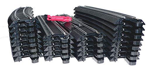 EZ Track Oval 27 Layout Bachmann Steel HO Scale Model Railroad 46 X 91 Oval Lot