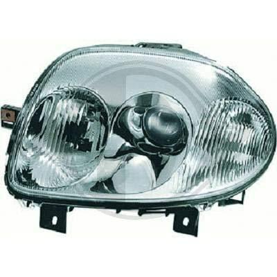 4413283 koplamp links design chroom voor Clio 2 bouwjaar 1998 tot 2001