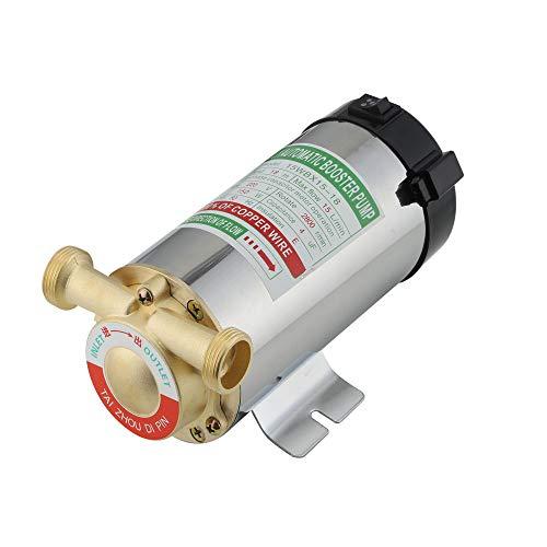 Pompa Acqua, BITOWAT 150 W Pompa di Aumento per Tubi Altezza spruzzo 15M, Pompa di Aumento dell'acqua del Rubinetto, Pompa di Circolazione dell'acqua Fredda e Calda