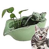 Jilisay Cat-Brunnen Haustier-Wasser-Brunnen-Ultra-Quiet-automatischer Haustier-Wasser-Zufuhr Aktivkohlefilter, for Hunde, Katzen, Vögel und Kleintiere Hunde wasserspender