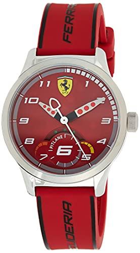 Scuderia Ferrari Reloj de pulsera Analógico Para Unisex Niños de Cuarzo con Correa en Silicona 860004