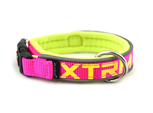 Nayeco COLLAR X-TRM NEON FLASH FUCSIA 38MM x 65-75
