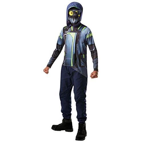 Rubie's- Official Fortnite Archetype Costume Kit-Top & Mask Ragazzi, Multicolore, taglia unica, 300537NS