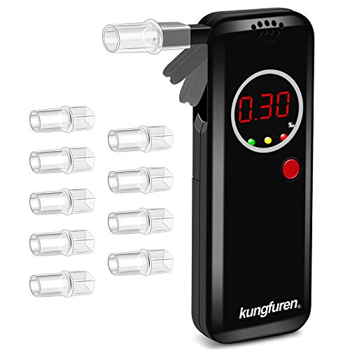 kungfuren Breathalysers, Professional Alcohol Breathalyzer, Portable Alcohol...