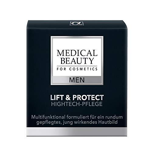 MEDICAL BEAUTY® MEN Lift & Protect Hightech-Pflege | Anti-Aging Hautcreme für Männer | für effektive Faltenreduktion | hochwirksam | auch für sensible Haut