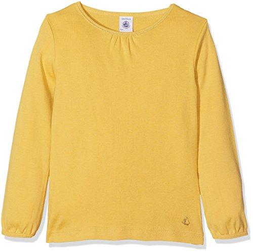 Petit Bateau T SHIRTML 2642149 Camiseta de Manga Larga, Amarillo (Ocre 49), 4 años para Niños