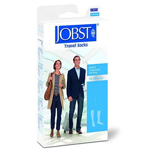 BSN Jobst Reisestrümpfe Travel Socks Kniestrümpfe Mit Spitze Schwarz 5