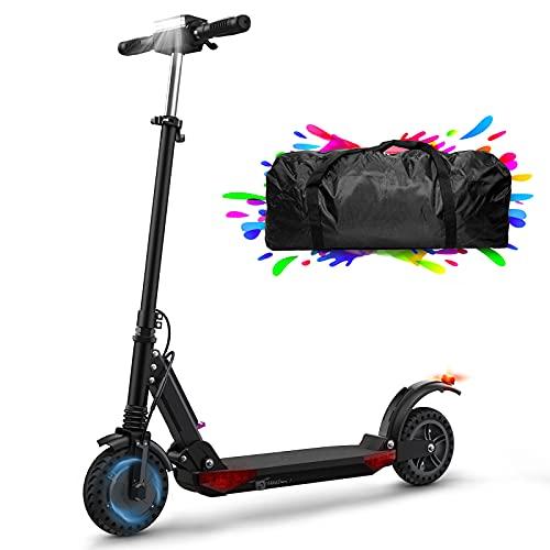 HUABANCHE Elektroscooter Erwachsene E Roller 30km elektroroller 350W E Roller Faltbarer...