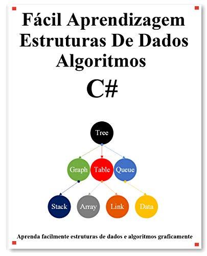 Fácil Aprendizagem Estruturas De Dados e Algoritmos C#: Aprenda graficamente estruturas de dados e algoritmos C# melhor do que antes