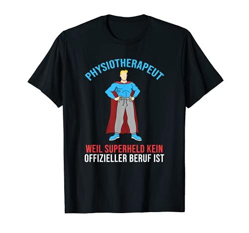 Fisioterapeuta Hombres Mujeres – Héroe divertido fisioterapia Camiseta