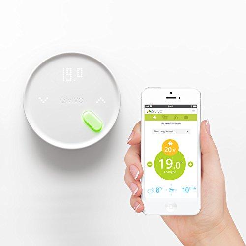 Qivivo Thermostat connecté sans fil