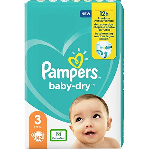 Pampers 81714369 - Baby-dry pañales, unisex