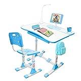 Gorilla Gadgets Kids Desk and Chair Set, Height Adjustable...