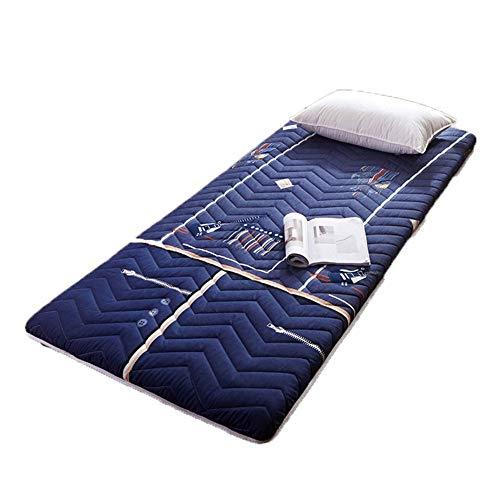 UNILIFE Japanischen Traditionellen Futon, Faltbare Rollbar Futonbetten pad Tatami-Matratze, Tragbare Camping Matratzen Klappmatratze Hoch:8cm