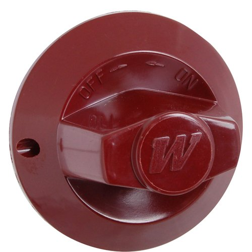 WOLF 719259 BURNER VALVE KNOB (RED) - For Commercial Wolf Appliances