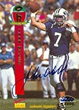 Autograph Warehouse 99847 John Walsh Autographed Football Card Brigham Young 1995 Signature Rookies No. 45