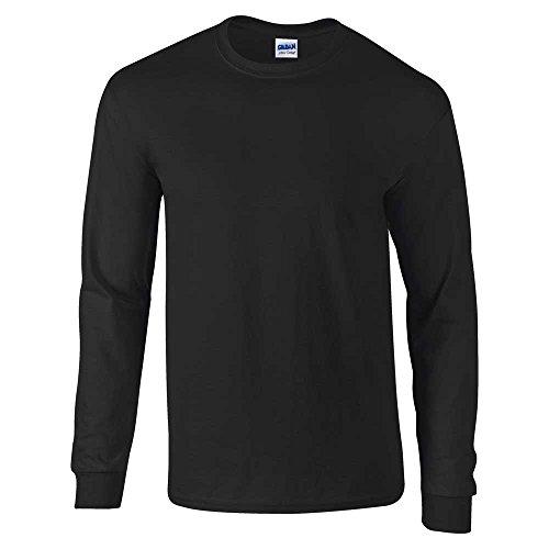 GILDAN - T-shirt - Homme noir Noir L - 42/44\