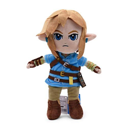 ggfhgh Plush Toys Anime The Legend Of Zelda Link Doll Soft Stuffed Baby For Children 27cm