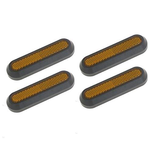 cherrypop Juego de 4 fundas para rueda de scooter para protección reflectante para Mijia M365/M365/2/S1