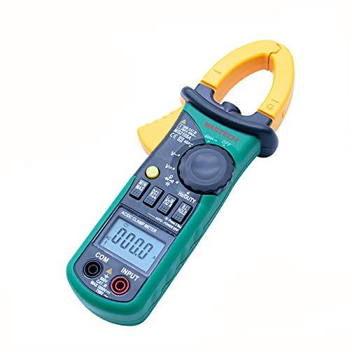 Seesii MASTECH MS2108A Multimetro Digitale a Pinza Automatica 4000 conteggio Voltmetro DC/AC Tester di Resistenza Corrente amperometro Multi-Metro