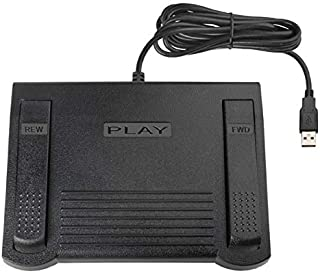 ECS StenoCAT FP USB Foot Pedal for use with StenoCAT Software