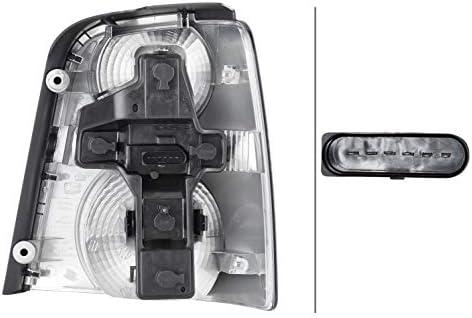 Tecnolog/ía de l/ámparas incandescentes izquierda HELLA 2SK 009 477-091 Piloto posterior negro