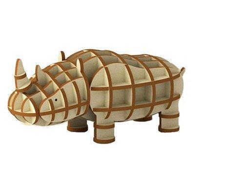 木製パズル kigumi (キグミ) サイ