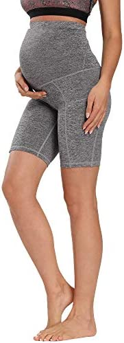 Foucome Women s Maternity Over The Belly Active Lounge Comfy Yoga Short Workout Running Athletic product image