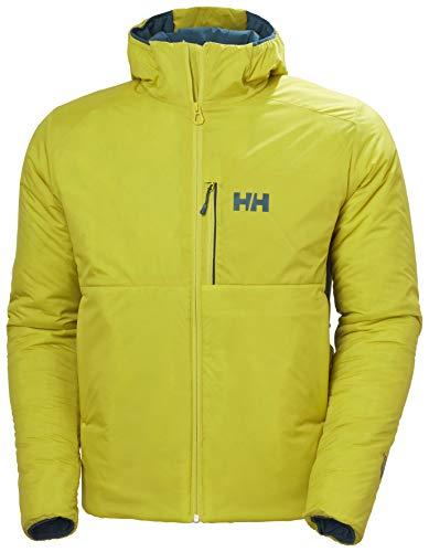 Helly-Hansen Odin Chaqueta aislante ligera con capucha para hombre, 426 cálida oliva, grande