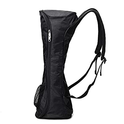 73JohnPol Tragbare Größe Oxford Tuch Hoverboard Tasche Sport Handtaschen Für Selbstausgleich Auto 6,5 Zoll Elektroroller Tragetasche (Farbe: schwarz)