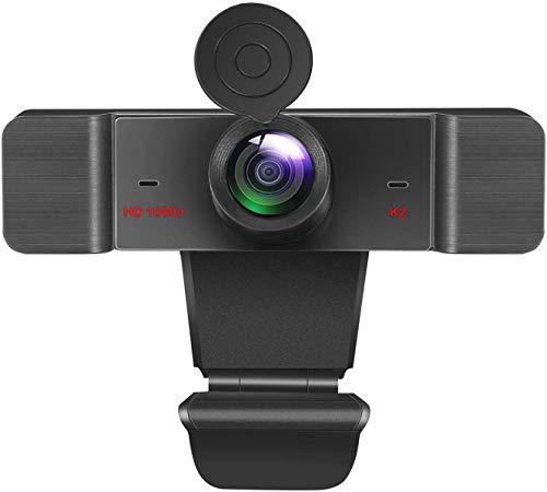 HD 1080P Webcam mit Mikrofon & Sichtschutz USB PC Computer Webcam für Computer Kamera Streaming WebcamDesktop & Laptop
