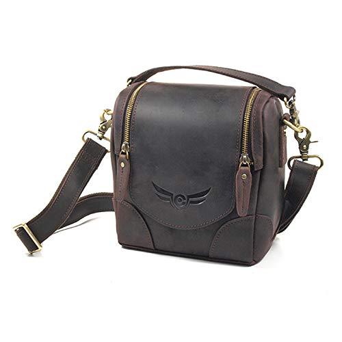 Firmcam Angus Litli Fototasche Kameratasche aus vegetabil gegerbtem Leder - für DSLR, Spiegelreflexkameras, Bridgekameras etc.