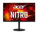 Acer XV322QUP Gaming Monitor 31,5 Zoll (80 cm Bildschirm) WQHD, 165Hz DP, 144Hz HDMI, 1ms (VRB), 2xHDMI 2.0, 2xDP 1.4, höhenverstellbar, drehbar, HDMI/DP FreeSync Premium