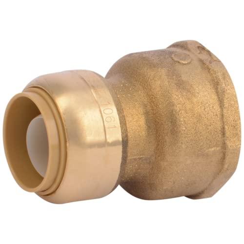SharkBite U086LFA Water Softener Fitting, Brass