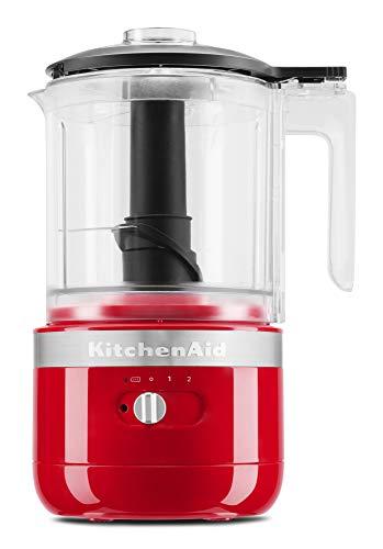 KitchenAid KFCB519PA Cordless 5 Cup Food Chopper - Passion Red