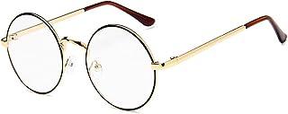 نظارات شمسية بتصميم رترو كلاسيكي واطار معدني كامل وعدسات زجاجية مرايا للنساء والرجال
