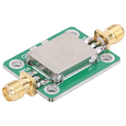 KUIDAMOS Amplificatore a microonde RF, 0,1-4000 MHz, modulo Amplificatore a Onde Corte, Comunicazione in radiofrequenza ad Alto Guadagno, Femmina Standard SMA