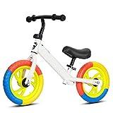 Z-SEAT Sin Pedal De Bicicleta De Equilibrio De Los Niños, Niño De La Bici del Empuje, Bebé Vespa Bicicleta con Altura Ajustable Asiento Y Marco Ligero para Niños Y Niñas De 2-6,B