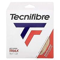 テクニファイバー(Tecnifibre) 硬式テニスガット TRIAX(トライアックス) 1.33mm×12m ナチュラル(NA) TFG311