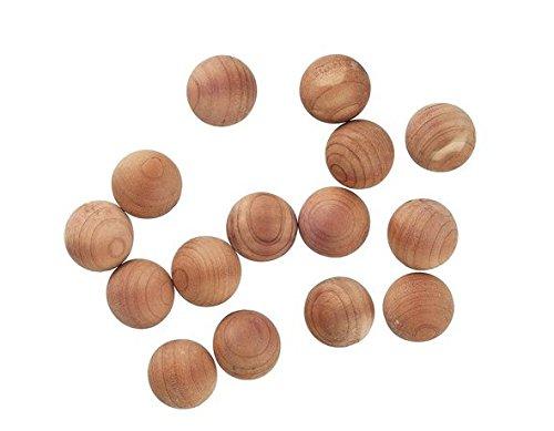 Motte bolas 15piezas antipolillas de madera de cedro