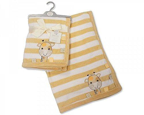 Bébé Polaire Couverture d'emmaillotage Girafe