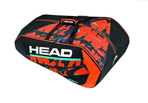 Headgear, Head Radical 12R Monstercombi-Borsa da Tennis, Taglia Unica, Colore: Arancione Unisex-Adulto, 79 x 44 x 34 cm, 55 Liter