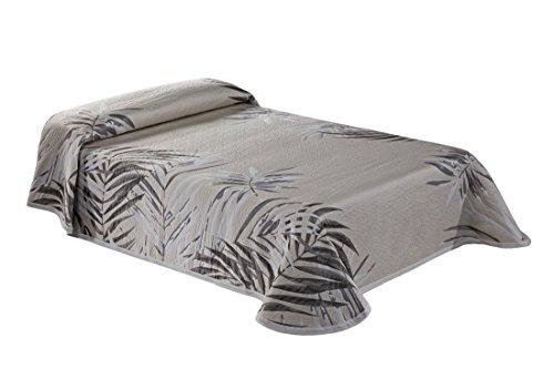 Textilia Warhol C/11 Colcha Piqué para Cama de 150, Poliéster, Beige, Queen, 270x250x3 cm