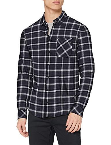 Blend Herren Freizeithemd Slim Fit T-Shirt, 194324, XL