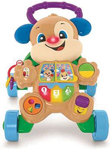 Cachorrinho que Anda, Aprender e Brincar, Fisher Price, Mattel, Azul