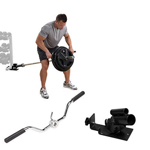 Body-Solid Spar-Paket T-Bar Row Core-Trainer Langhanteltrainer vorgebeugtes Rudern