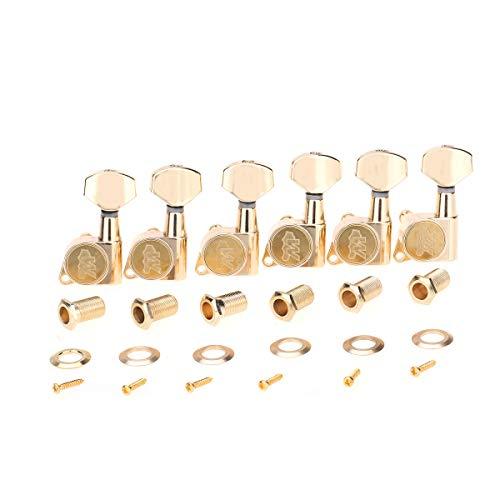 Wilkinson Zurdo 6 en Línea E-Z-LOK Clavijas de Afinación Clavijero de Repuesto...
