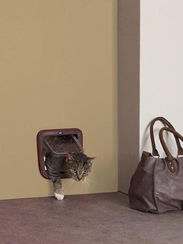Savic Access Basic - Aleta para Gatos (4 vías), Color Blanco
