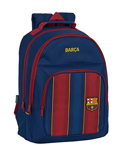 Mochila Safta Escolar de F.C. Barcelona 1ª Equipación 20/21, 320x160x420mm